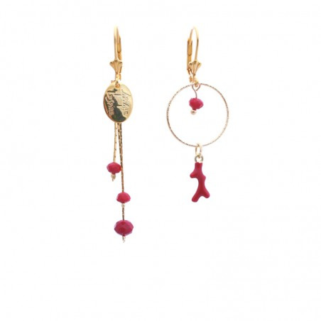 'Corail' earrings