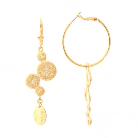 'Klimt' Creole earrings