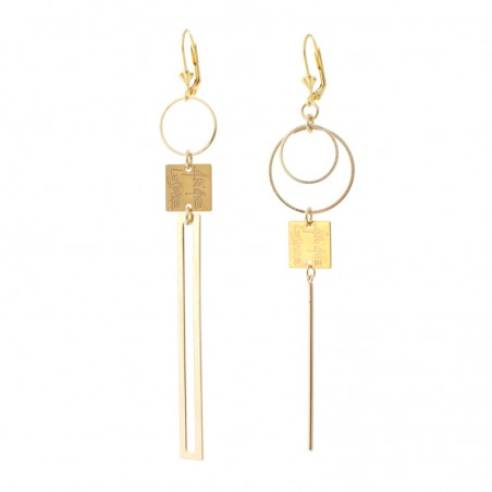 'Baguette' earrings