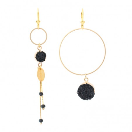 ' Giga Cercle Etna' earrings