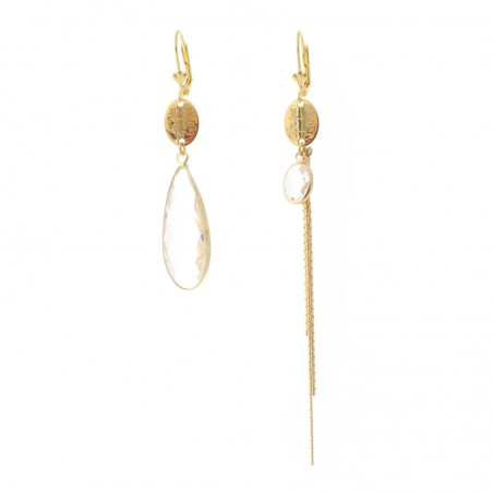 'Mega Cristal' earrings