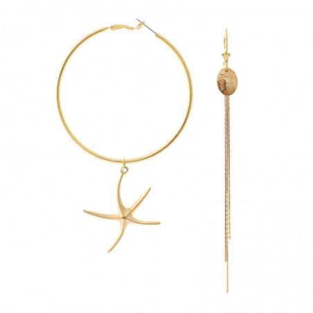 'Mare' Creole earrings