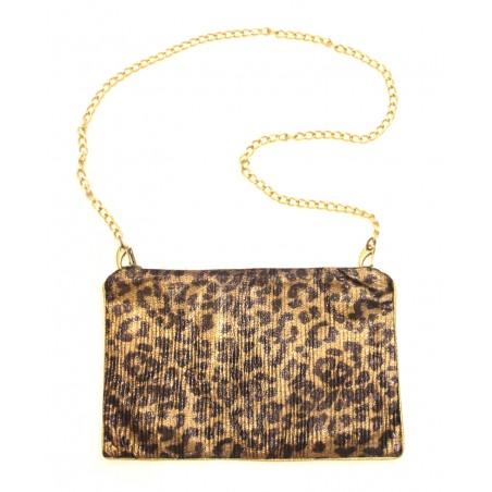 'Leopard' purse