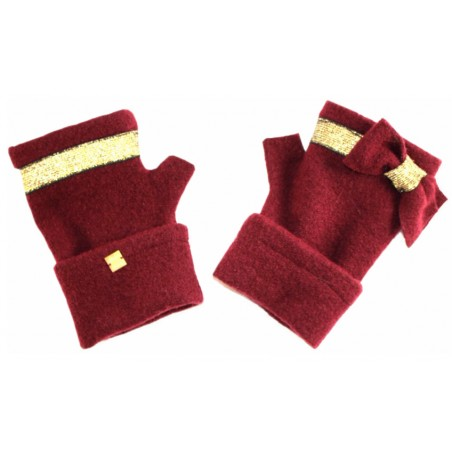 'Angèle' fingerless gloves
