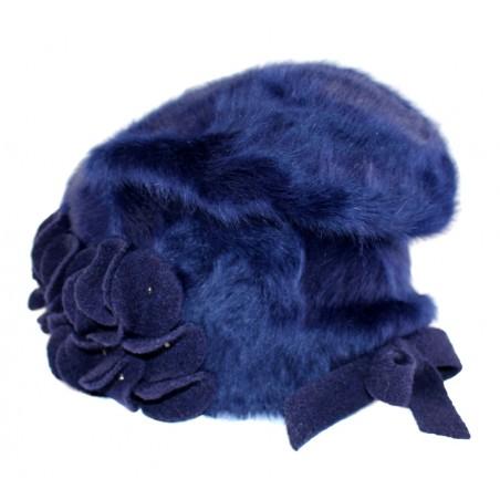 bell-shaped angora 'Mila' hood