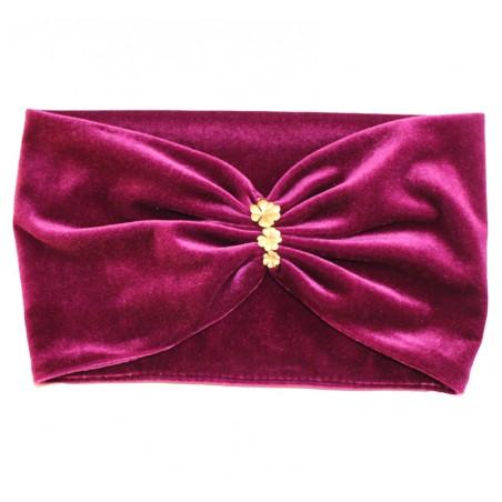 'Velvet' headband with...