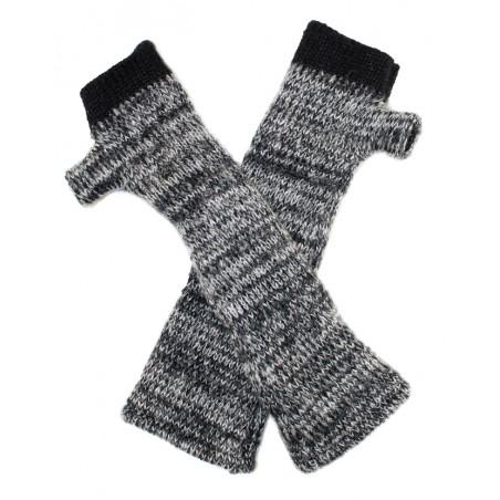 'Victor' fingerless gloves