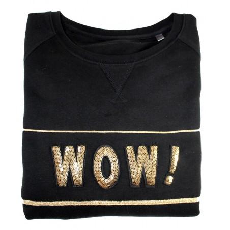 'WOW' sweater