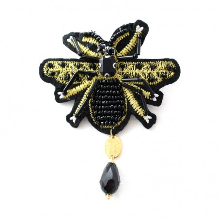 Big 'Bee' brooch