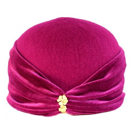 'Velvet' hood with 'trèfle'