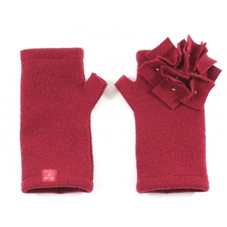 'Mirta' fingerless gloves