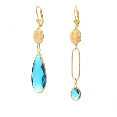 'Mega Cristal Gelule' earrings