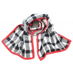 écharpe Kilt bord rouge