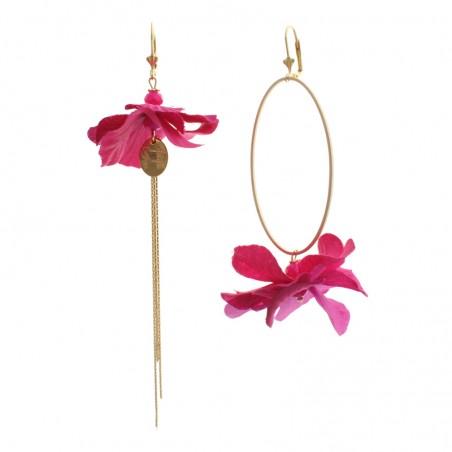 boucles d'oreille 'Fleur...