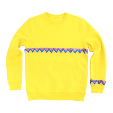 sweater Sioux ruban poudre