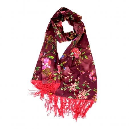 garnet 'Hana' scarf