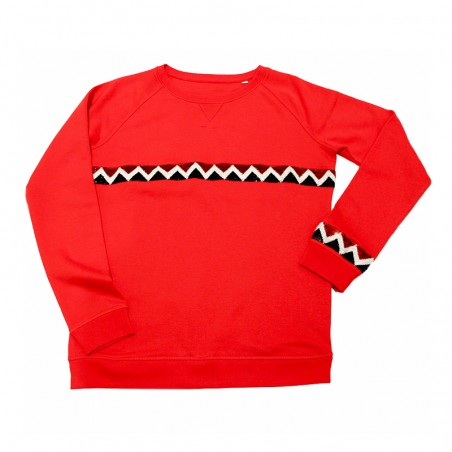 sweater Sioux ruban rouge