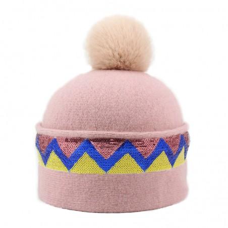 'Sioux' hood - powder pink...