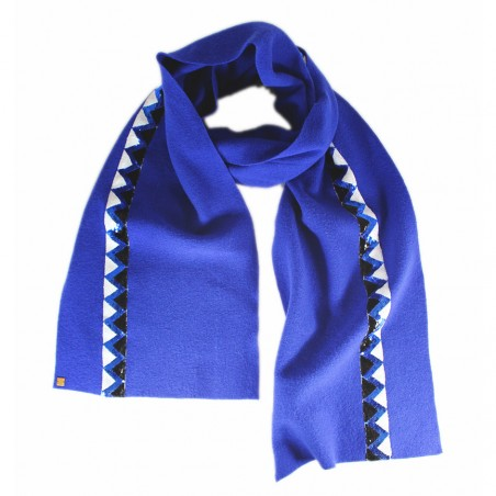 'Sioux' scarf - blue ribbon