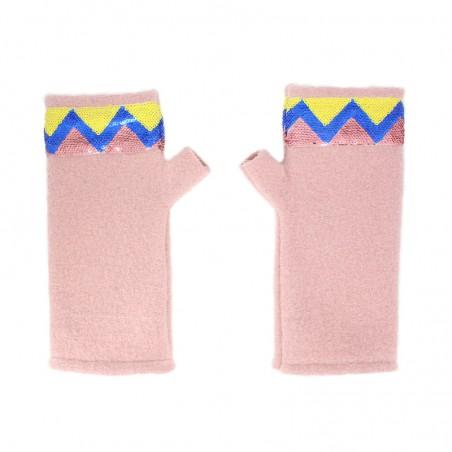 'Sioux' fingerless gloves -...