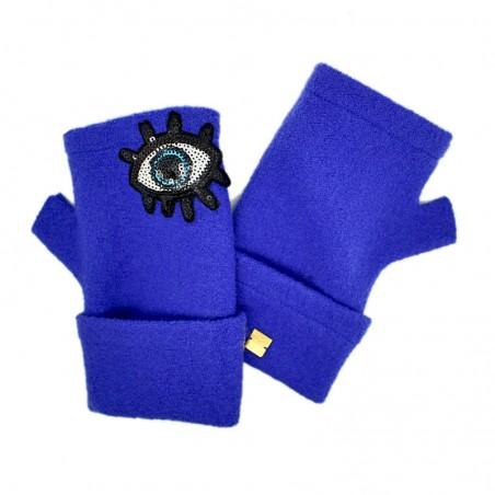 'Look' fingerless gloves