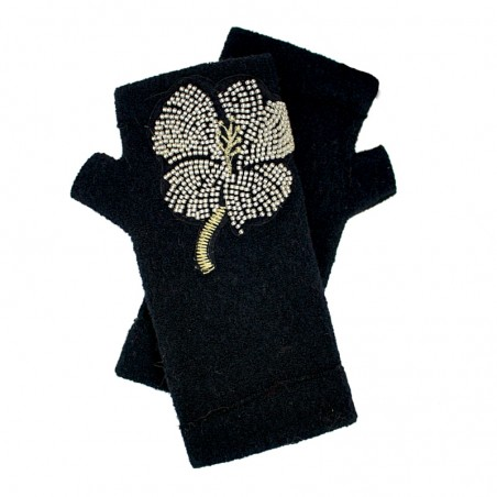 'Linda' fingerless gloves