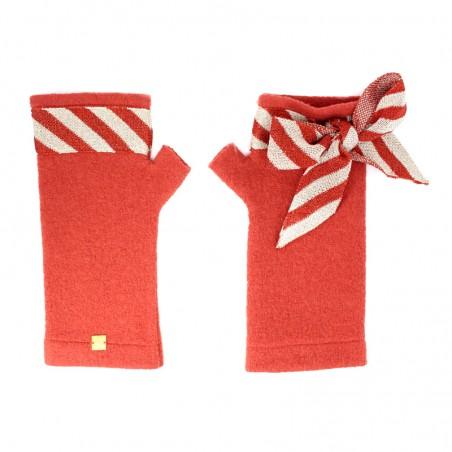 'Candy' fingerless gloves