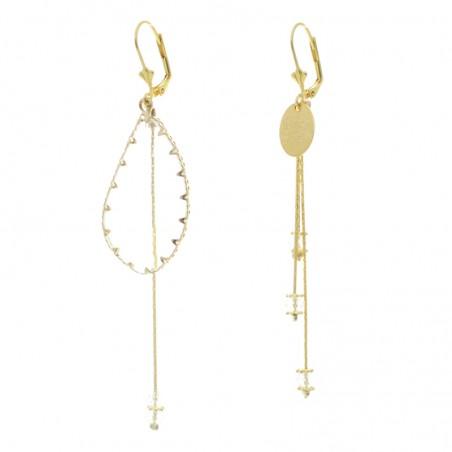 'Serti' earrings