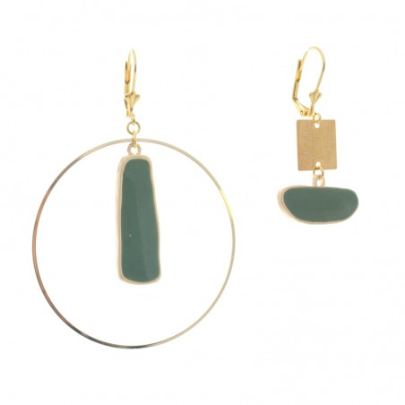 'Inca Giga Cercle' earrings
