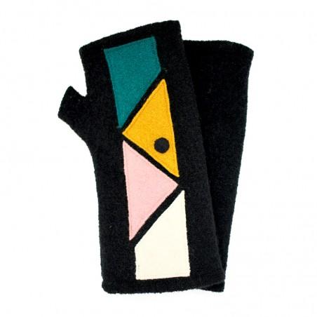 'Arty' fingerless gloves -...