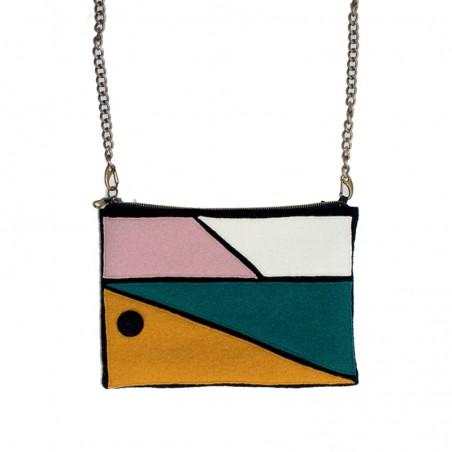 'Arty' purse - retro