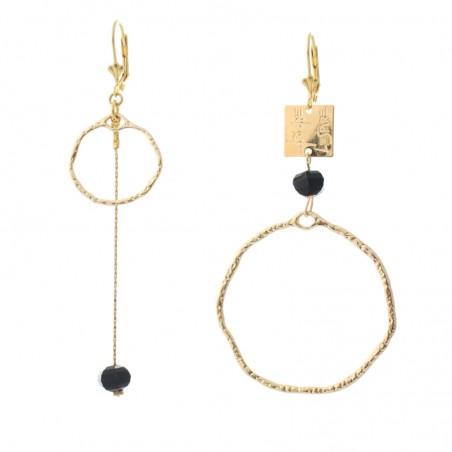 'Oxo duo' earrings