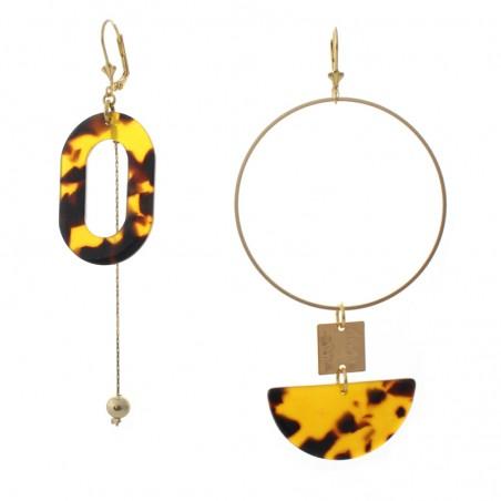'Marbré lune' earrings