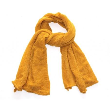 mustard 'Lou' scarf