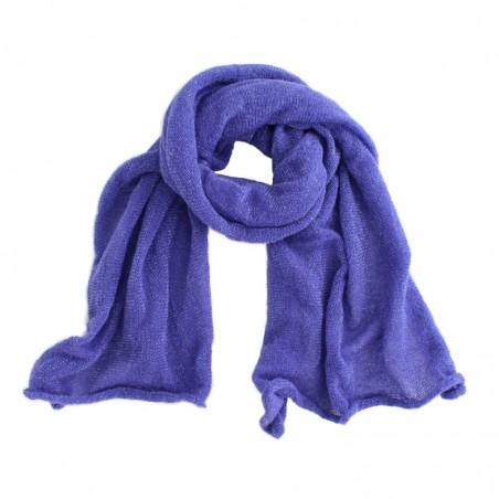 indigo 'Lou' scarf