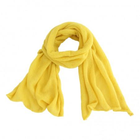 écharpe Lou jaune