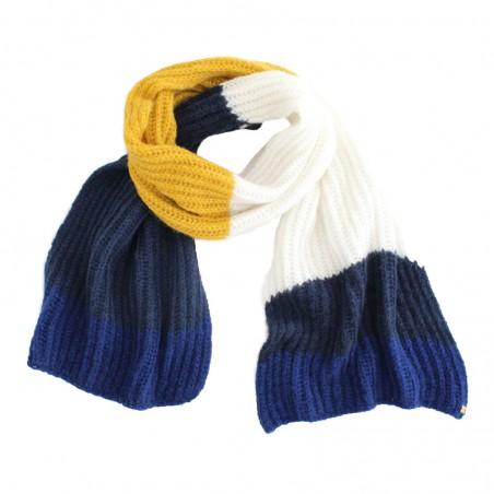 multi mustard 'Tomi' scarf
