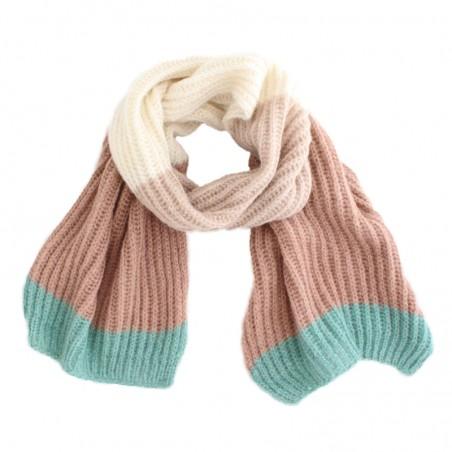 multi powder 'Tomi' scarf