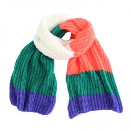 multi orange 'Tomi' scarf