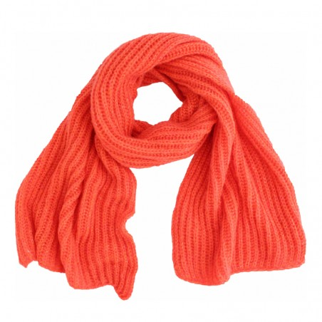 coral 'Tomi' scarf