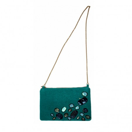 'Stone' purse
