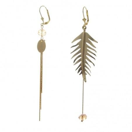 'Pin 2' earrings