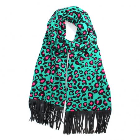 emerald 'Jane' scarf