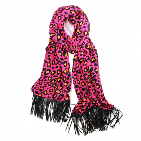 fuchsia 'Jane' scarf