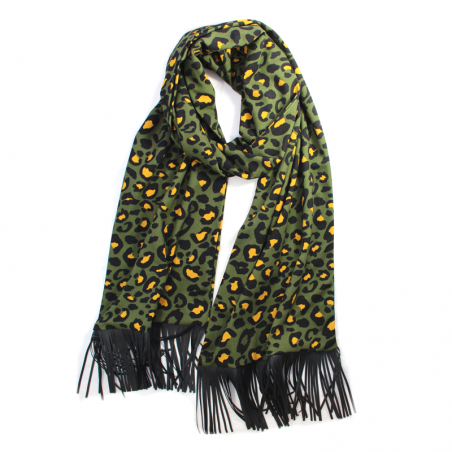 kaki 'Jane' scarf