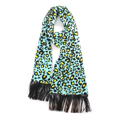 turquoise 'Jane' scarf