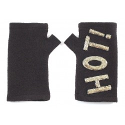 'Wow' or 'Hot' fingerless...