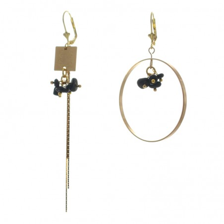 'chaton 3' earrings
