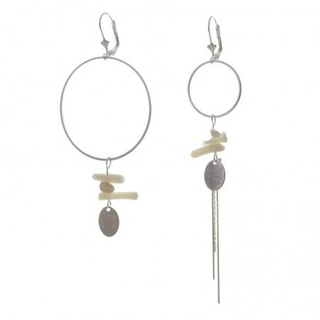 'corail 1' earrings