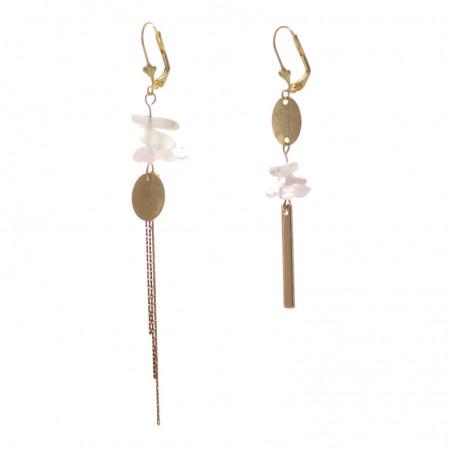 'morganite 1' earrings